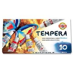 Temperové barvy (10 kusů)