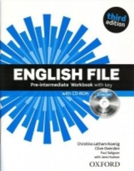 English File Third Edition Pre-intermediate Workbook vith key + CD-ROM