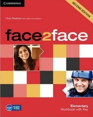 Face2face 2nd edition Elementary Workbook with Key (pracovní sešit s klíčem)