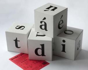 Kostky s písmeny