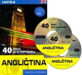 Angličtina 40 lekcí pro samouky + audio CD