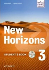 New Horizons 3 Students Book + CD-ROM (učebnice)