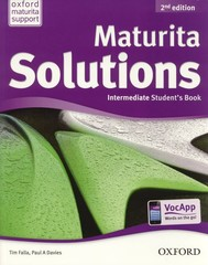 Maturita Solutions 2nd Edition Intermediate Students Book (učebnice)