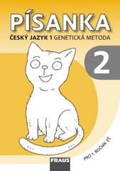 Písanka 2 pro 1.r. ZŠ - Český jazyk 1 - Genetická metoda