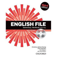 English File Third Edition Elementary Workbook vith key + CD-ROM