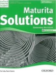 Maturita Solutions 2nd Edition Elementary Workbook with Audio CD (pracovní sešit)