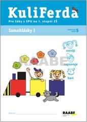 KuliFerda SPU - Samohlásky I (pracovní sešit 5 pro žáky s SPU na 1.stupni ZŠ)