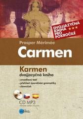 Carmen - dvojjazyčná kniha pro pokročilé + CD MP3