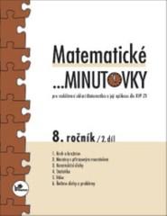 Matematické minutovky 8.r. - 2.díl