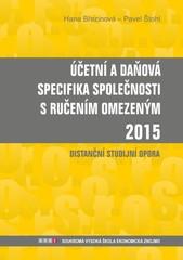 Účetní a daňová specifika společnosti s ručením omezeným 2015