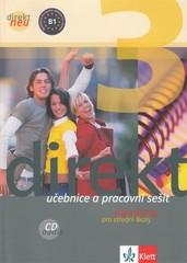 Direkt NEU 3 - Němčina pro SŠ - učebnice a pracovní sešit + audio CD