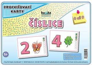 Procvičovací karty - Číslice (malé karty A7)