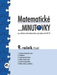 Matematické minutovky 9.r. - 2.díl