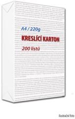 Karton kreslící A4 220g (200 kusů)