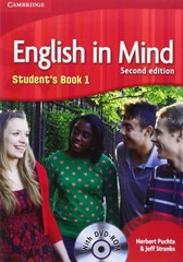 English in Mind 2nd Edition Level 1 Student's Book + DVD-ROM