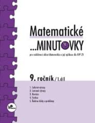 Matematické minutovky 9.r. - 1.díl