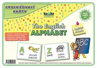 Procvičovací karty - Anglická abeceda (malé karty A7)