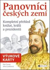 Panovníci českých zemí - Výukové karty